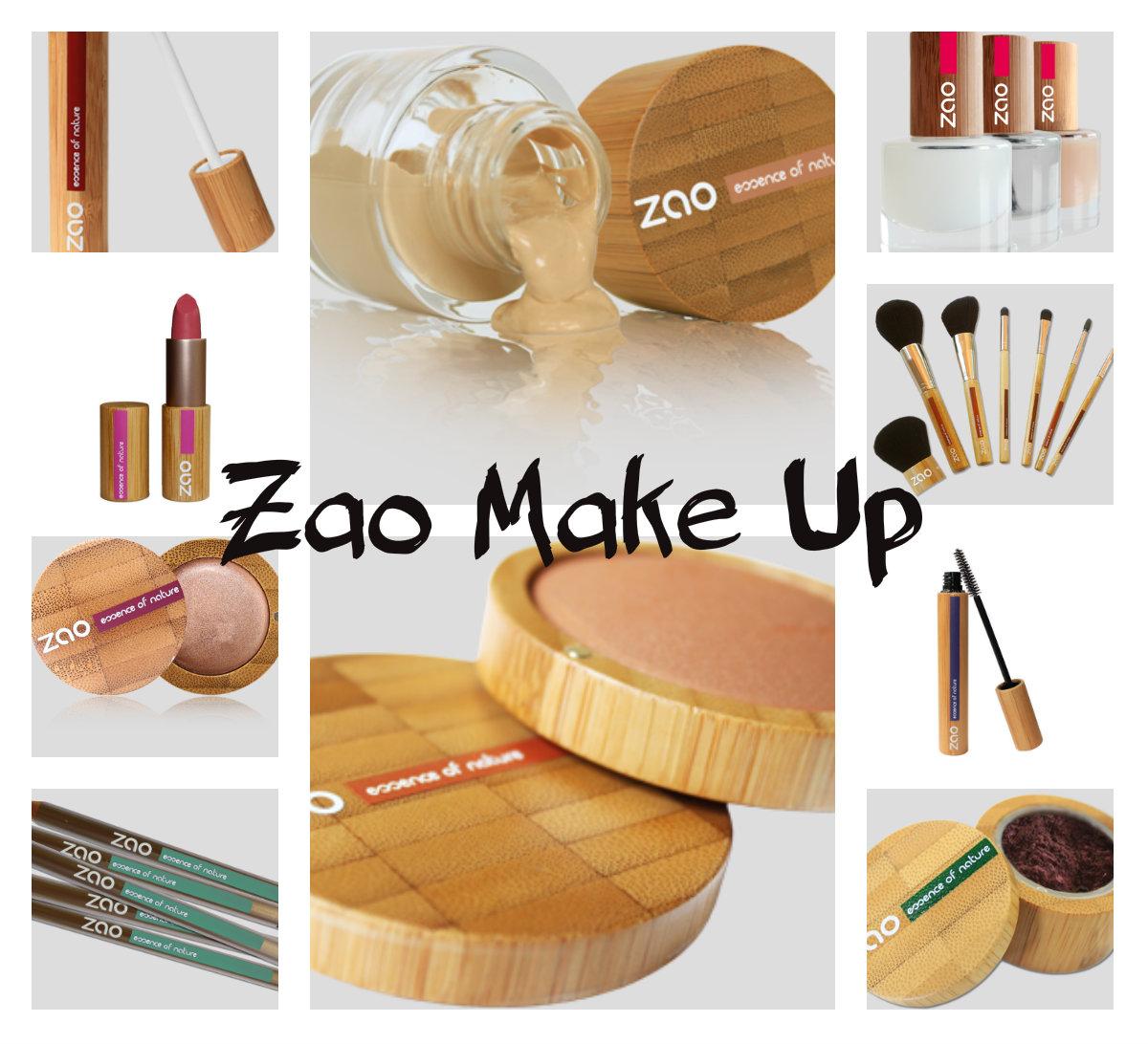 maquillage bio zao makeup