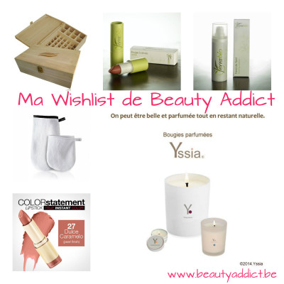 wishlist blog beauté belge 2014