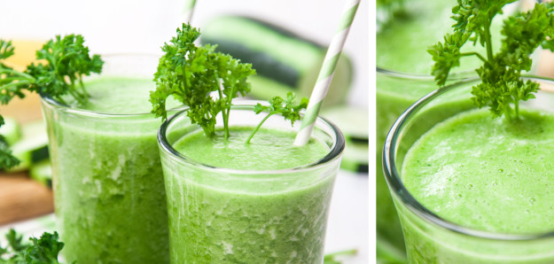 smoothie détox vert