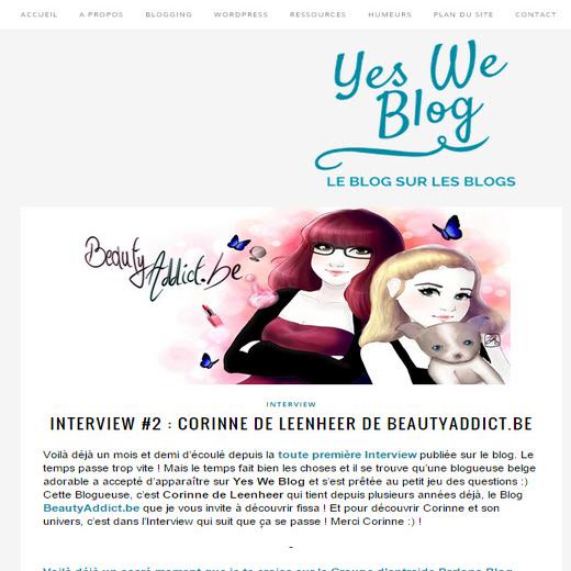 interview blogueuse beauté
