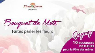 concours bouquet de mots Floraqueen