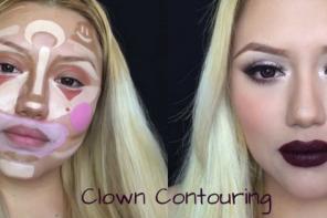 le clown contouring
