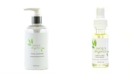 soins visage jacqs organics