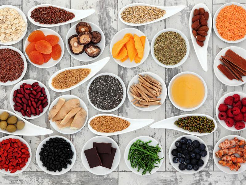 groupes de super-aliments