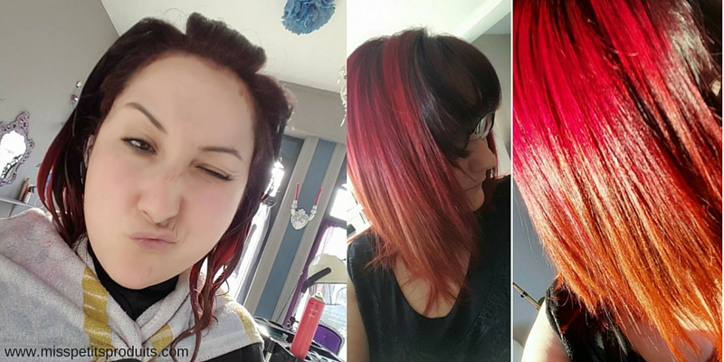 manic panic before after vampire red