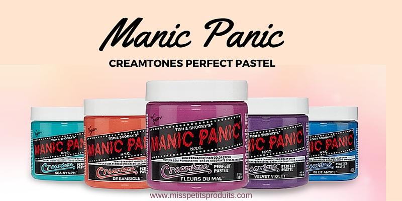 acheter manic panic pastels belgique