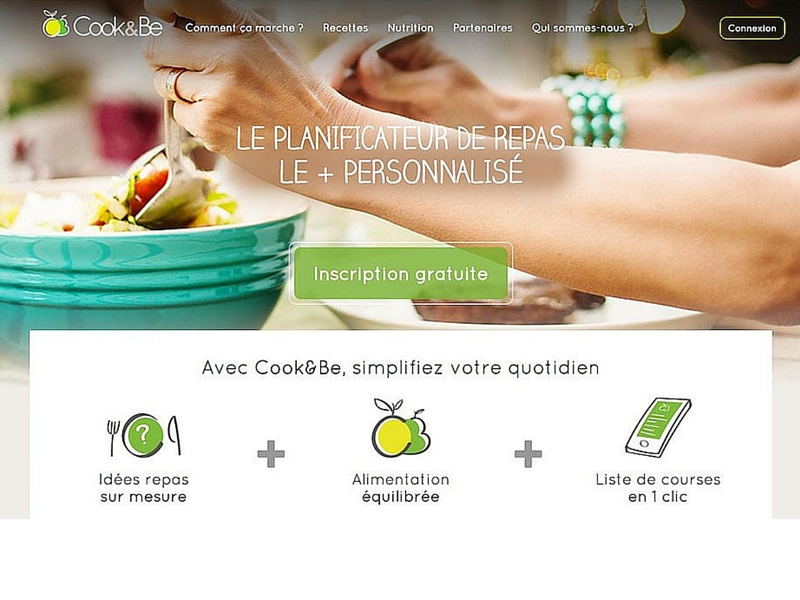 ccok&be gestion repas online