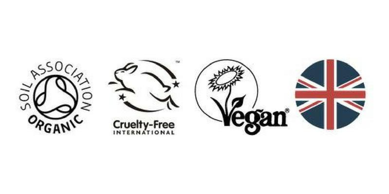 labels vegans nourish london cosmétiques