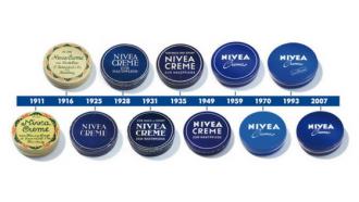 composition crème bleue nivea