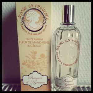 eau de parfum bouquet d'agrumes Jeanne en Provence
