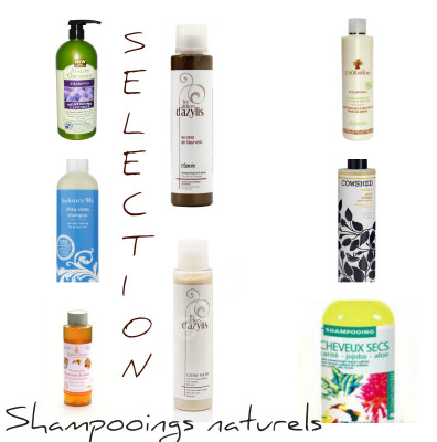 liste de shampoing composition clean