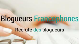 blogueurs francophones