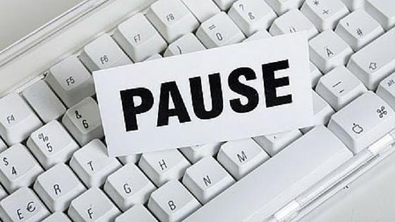apprendre à faire des pauses
