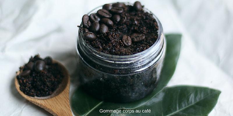 recette de gommage corps au café